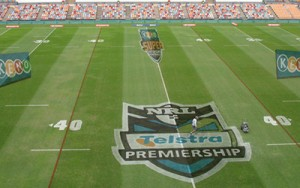 NRL Grass Sign
